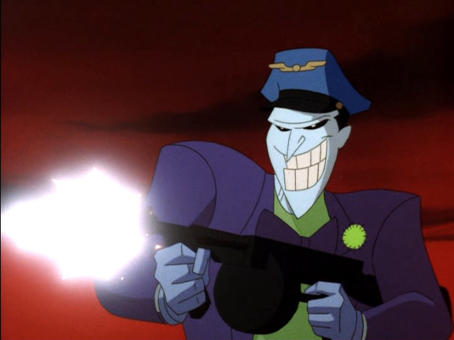 Joker clipart batman animated series #10