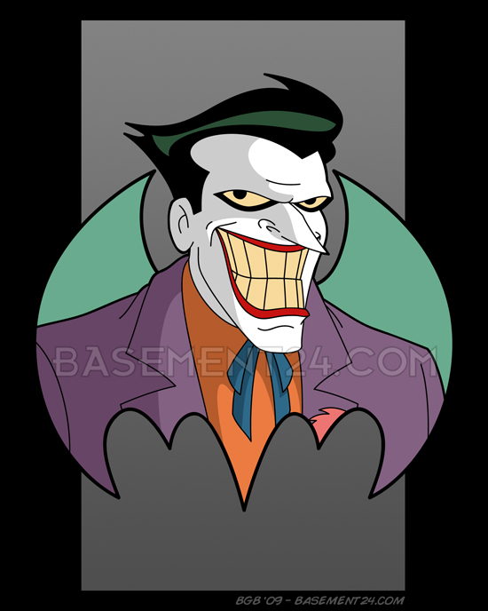 Joker clipart batman animated series #3