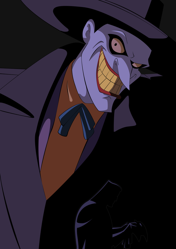 Joker clipart batman animated series #9