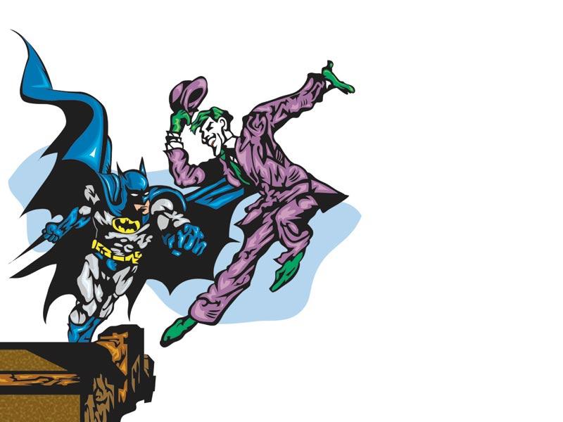Joker clipart batman cartoon Vs Inspiration Cliparts vs Batman