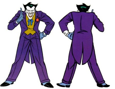 Joker clipart batman cartoon B The BatOuttaHell Cosplay clipart