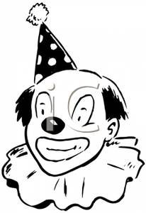 Joker clipart black and white Picture White Black Clipart and