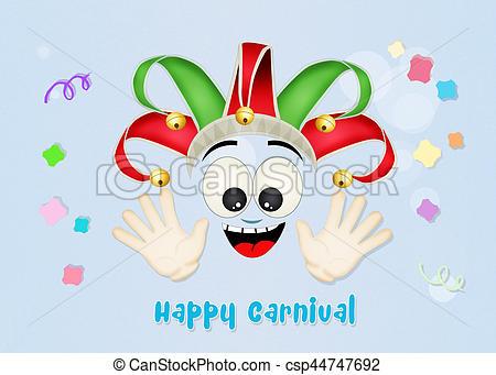 Joker clipart carnival Illustration joker Stock Illustration Illustration