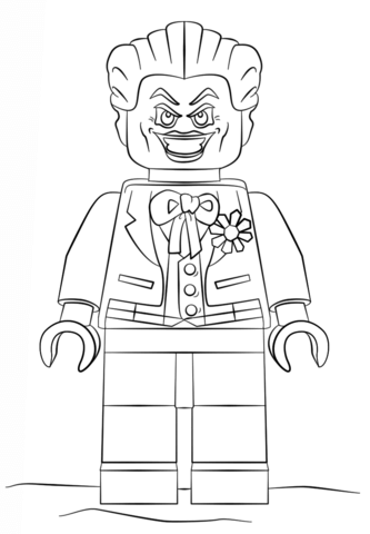 Joker clipart coloring page See of Pages Coloring printable