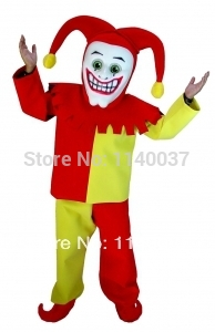 Joker clipart court jester Costume Clown Costume party(China Cartoon