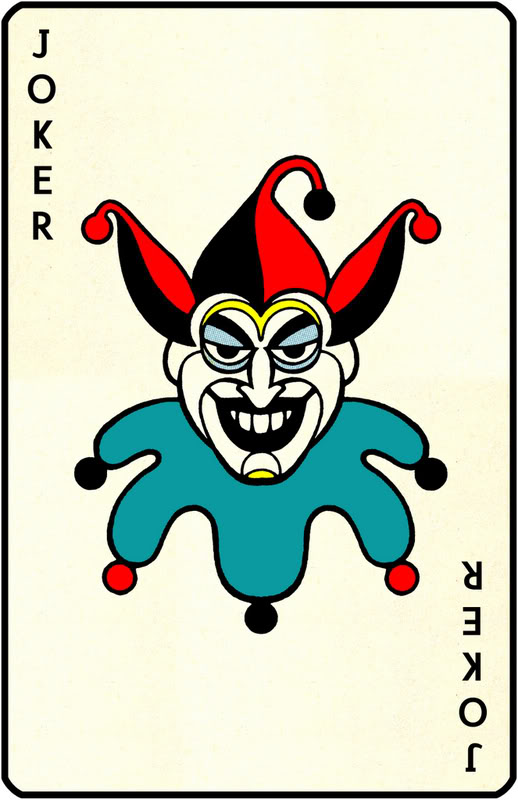 Joker clipart deck card  Joker