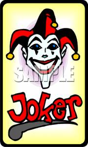 Joker clipart deck card A Clipart Joker Joker Playing