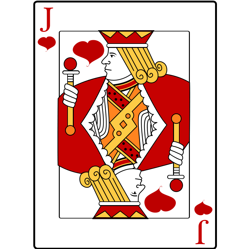 Joker clipart deck card Clip Domain Playing Public Playing