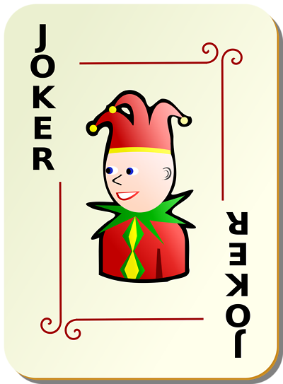 Joker clipart deck card Today know of a Quora
