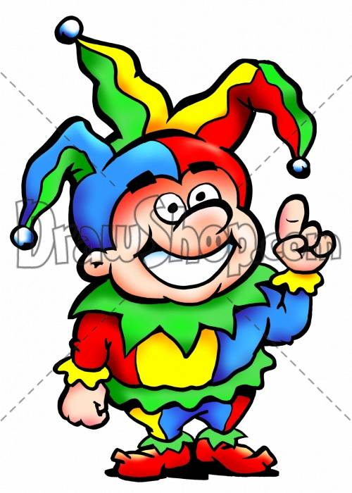 Joker clipart for kid #12