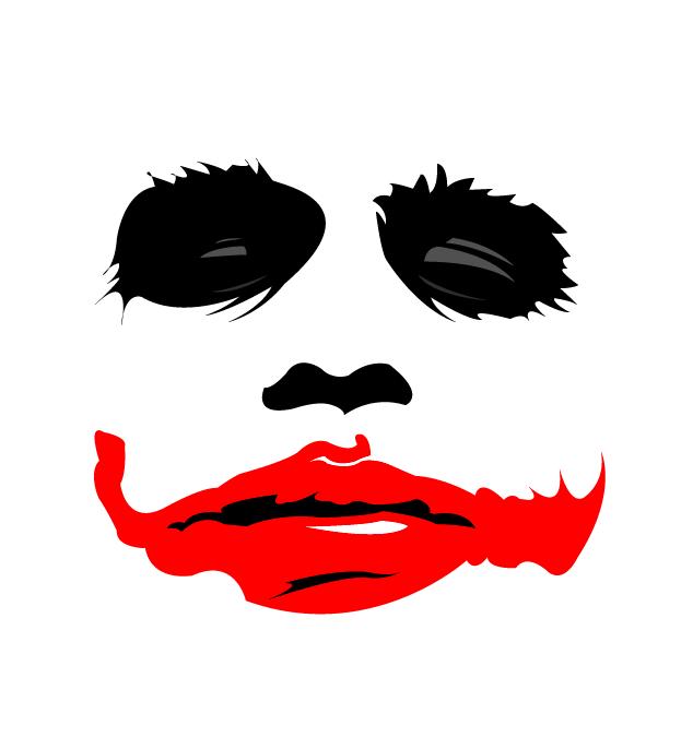 Joker clipart joker face Blaze on stencil Pinterest blaze