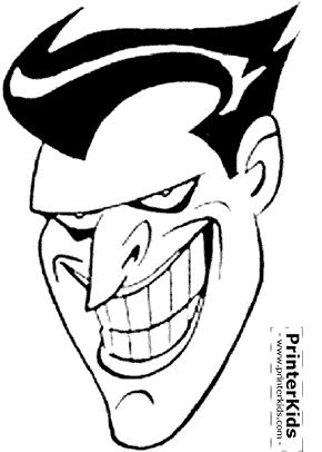 Joker clipart joker face Coloring Quotables coloring Printables Face