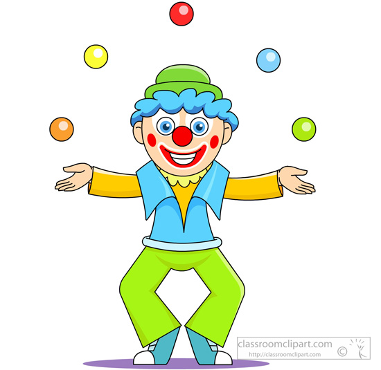 Joker clipart juggler Clip balls Circus Illustrations Size: