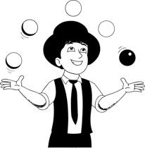Joker clipart juggler Clip and Joker Free Clipart