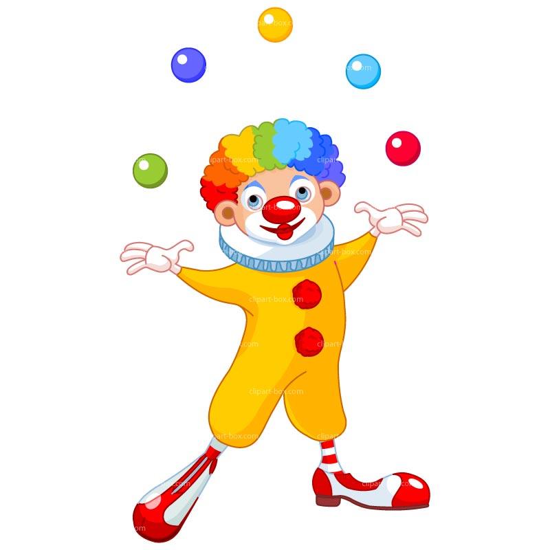 Joker clipart juggler 4 page image Clown clipart