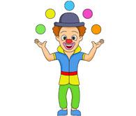 Joker clipart juggler Graphics Circus Performing Kb Pictures