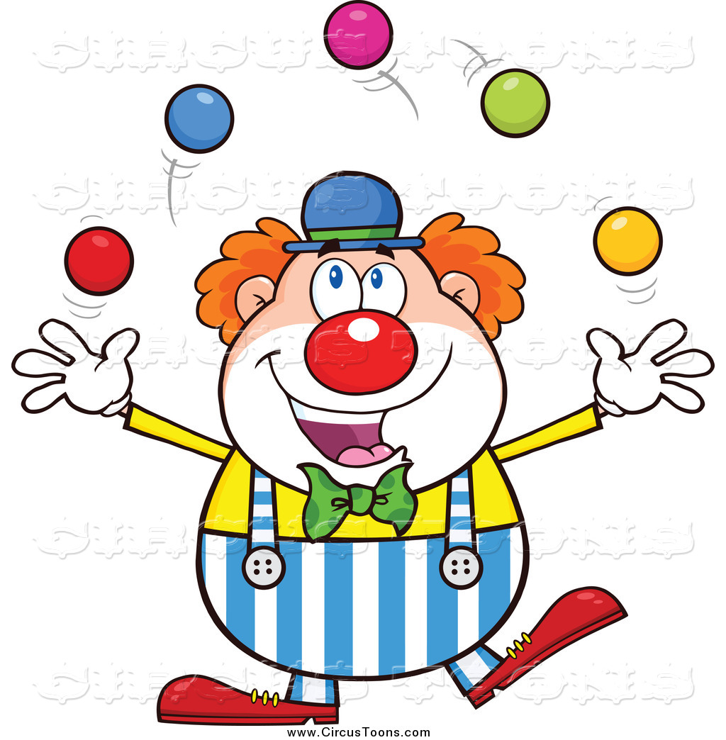 Joker clipart juggler Juggling Circus Royalty Colorful Balls