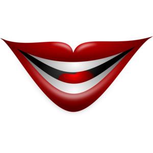 Joker clipart lip Joker Lip Polyvore Smile service