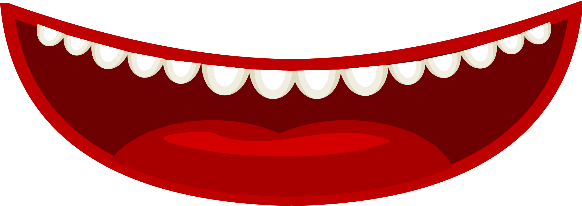 Monster clipart mouth open #15