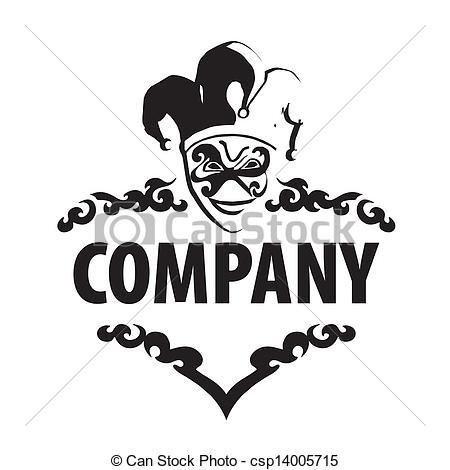Csp14005715 Art joker logo Clipart