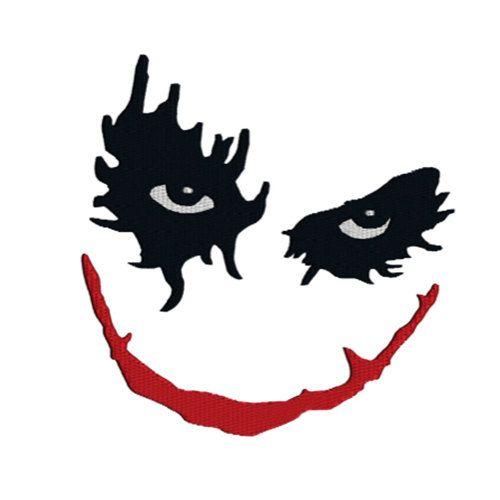 Joker clipart logo batman #8