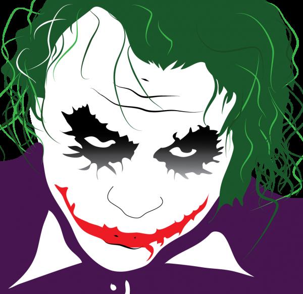 Joker clipart logo batman #9
