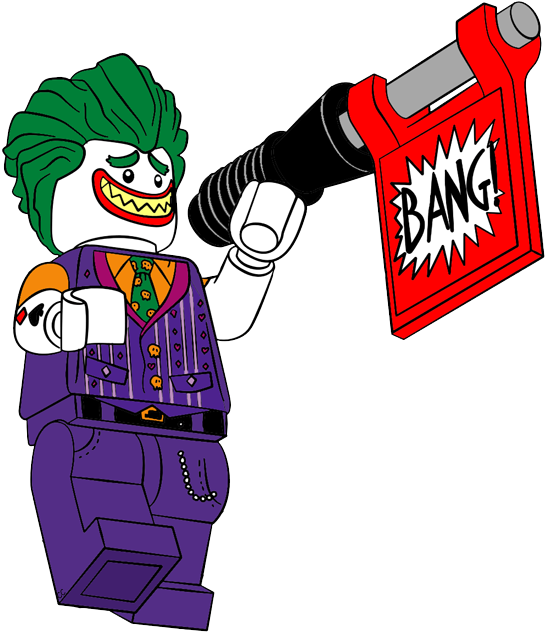 Joker clipart logo batman #6
