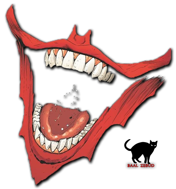 Joker clipart mouth Mouth by by DeviantArt on