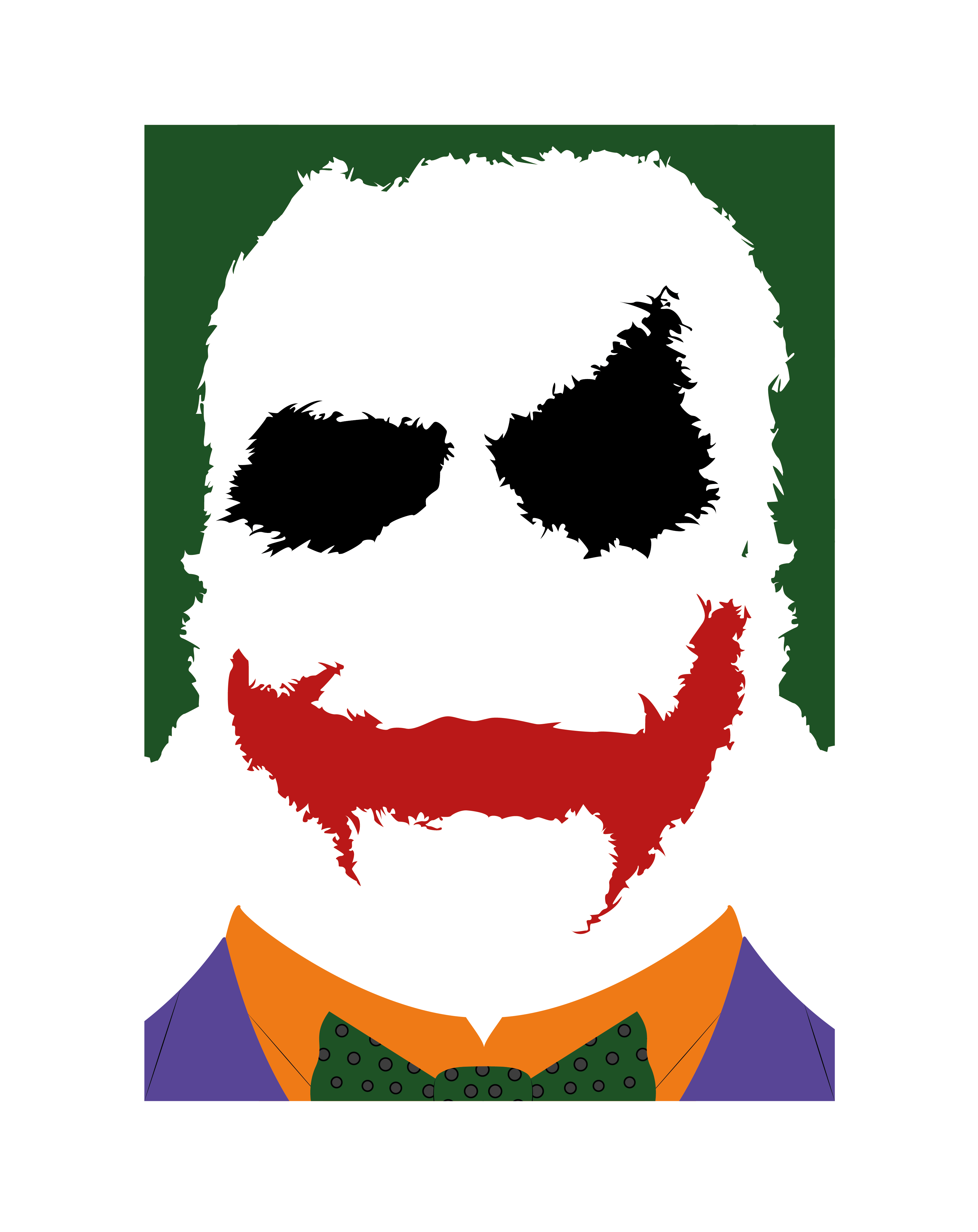 Joker clipart mouth Batman vector from The illustrator