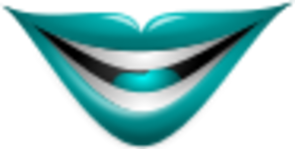 Joker clipart mouth Smiley color A  Mouth