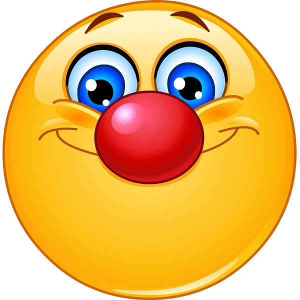 Joker clipart nose Nose nose Nose and Red