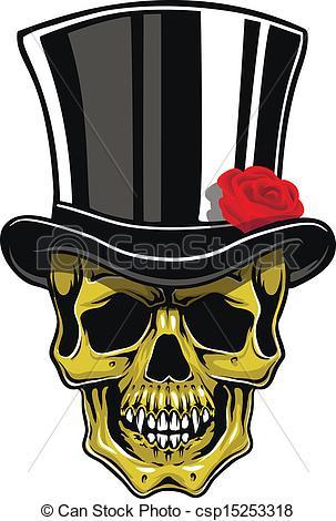 Joker clipart old cartoon Vector Vector skull Cartoon