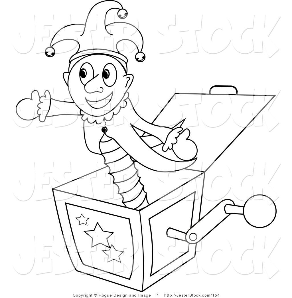 Toy clipart outline #2