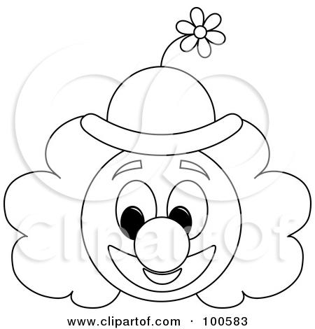 Joker clipart outline Clip Art page face (64+)