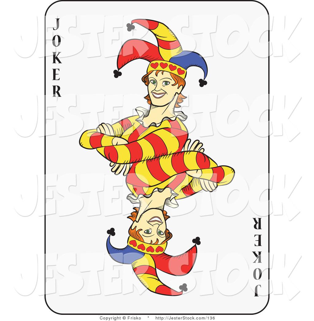 Joker clipart play card #6