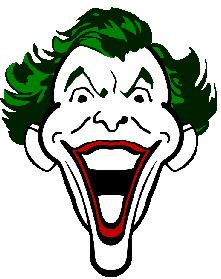 Joker clipart real #6
