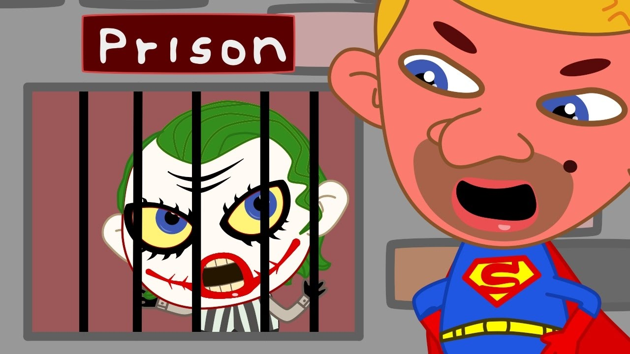 Joker clipart real Animated Real Elsa Crying Prison!