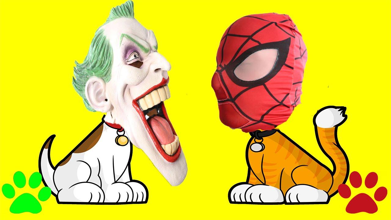 Joker clipart real In Spiderman Fun CAT CAT