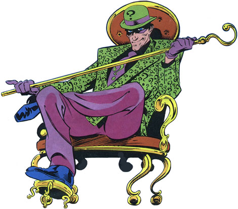 Joker clipart riddler #5