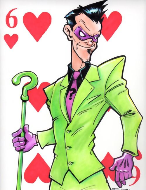 Joker clipart riddler #9