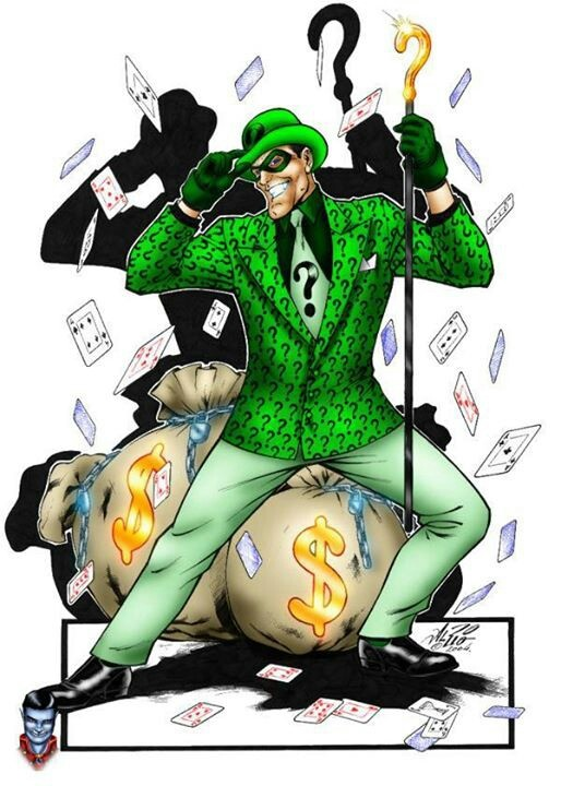 Joker clipart riddler #11