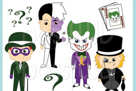 Joker clipart riddler #1