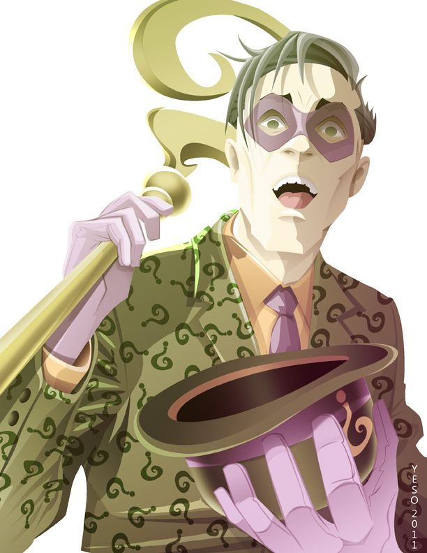 Joker clipart riddler #15