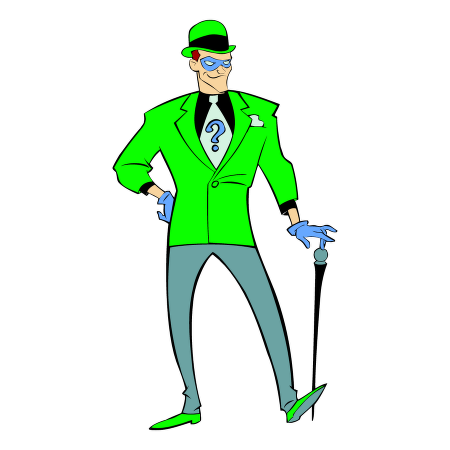 Joker clipart riddler #12