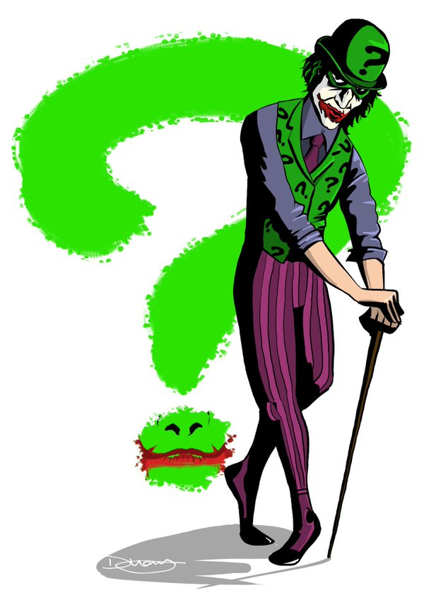 Joker clipart riddler #3