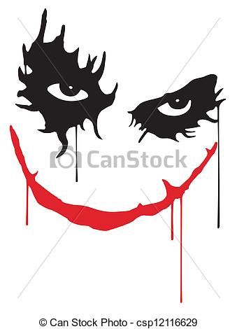 Joker clipart smile Smile Joker  Illustration of
