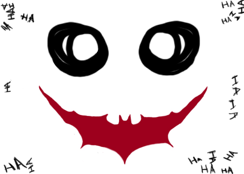 Joker clipart smile Knight Dark ClipArt BBCpersian7 Joker