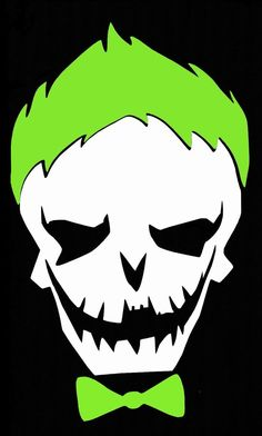 Joker clipart sticker Joker Vinyl Suicide Skull by