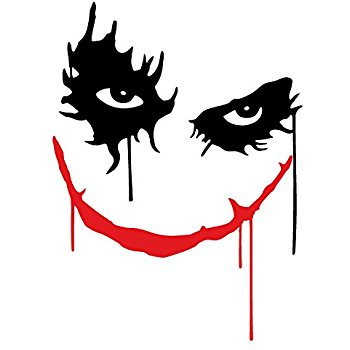 Joker clipart sticker Laptop Car OSMdecals No Joker