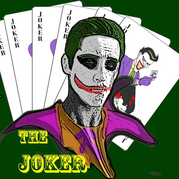 Joker clipart supe villain 4 Pick How (With a
